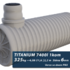 Plastová jímka na dešťovou vodu Titanium, se dnem PRO 2,4 m3