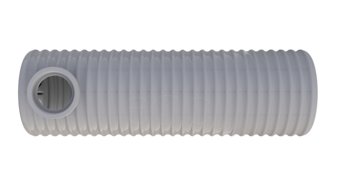 Zesílená jímka na dešťovou vodu Titanium, se dnem PRO 2,4 m3