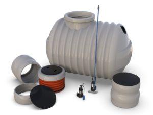 Příslušenství pro plastové nádrže