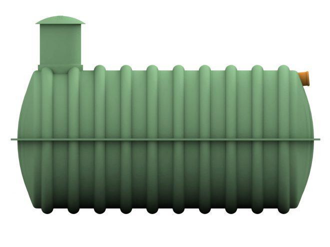 Žumpa s průměrem 160 cm, jednokomorovy 3m3