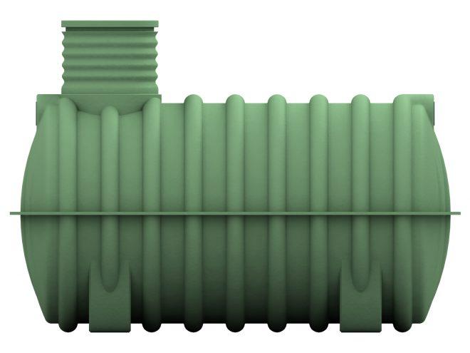 Žumpa s průměrem 140 cm, jednokomorovy 3m3