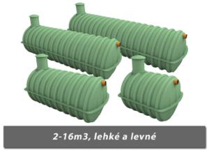 Lehké a levné plastové žumpy